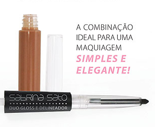 Duo Gloss e Delineador