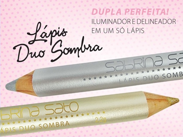 Lápis Duo Sombra - Delineador + Iluminador